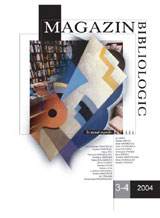 Magazin bibliologic 2004 3-4