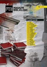 Magazin bibliologic 2010 1-2